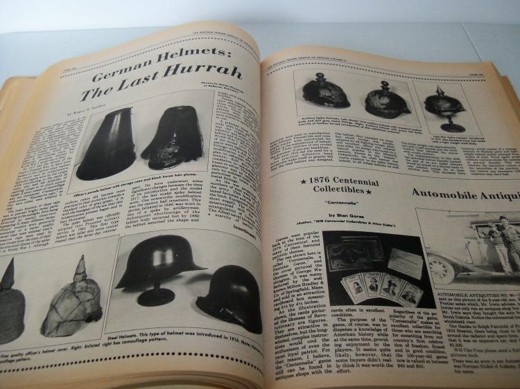 Vintage Reference Magazine THE ANTIQUE TRADER WEEKLY