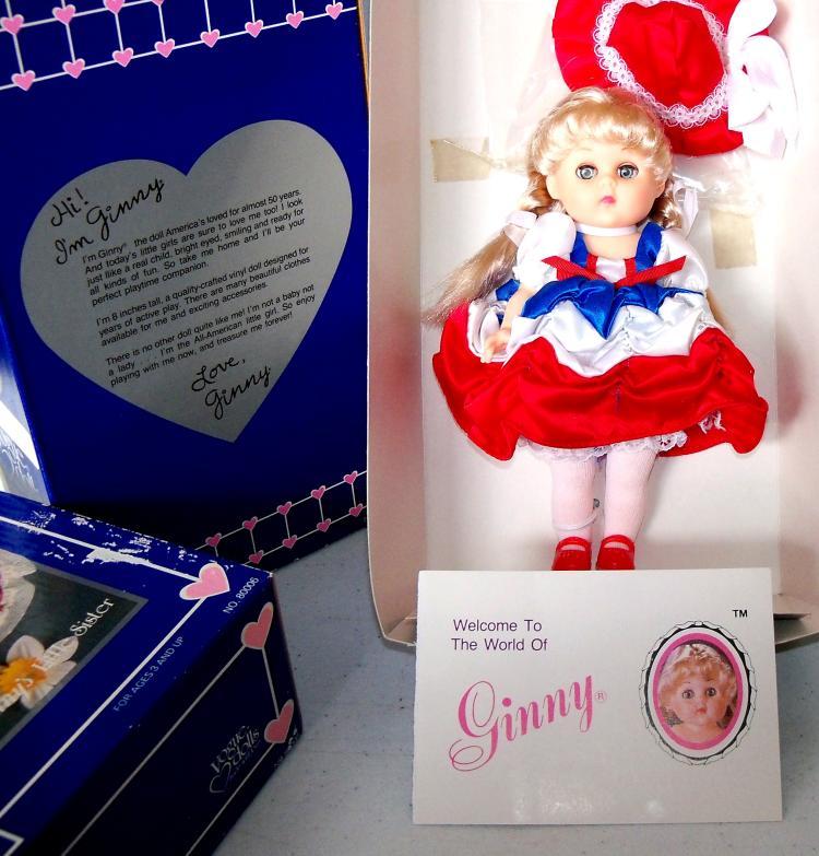 Vintage Vogue Doll GINNY SPIRIT OF AMERICA 1984 Collectible Vinyl