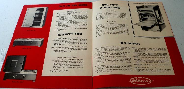Vintage Ephemera Advertising Bookletsleaflets Akron Commercial