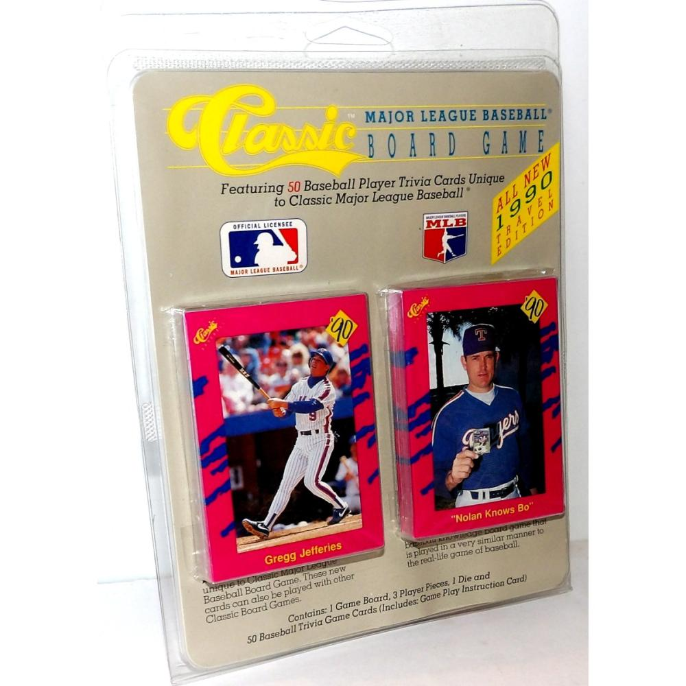 Classic Major League Baseball Board Game 1990 Travel Edition 50