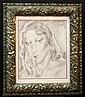 Tsuguharu Foujita Pencil & Charcoal on Paper