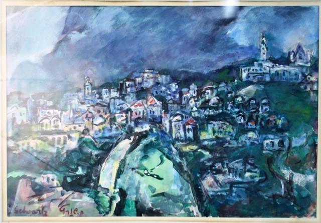Chaya Schwartz Landscape Painting