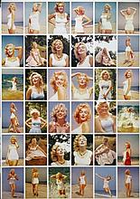 Sam Shaw, 36 Uncut Marilyn Monroe Postcards