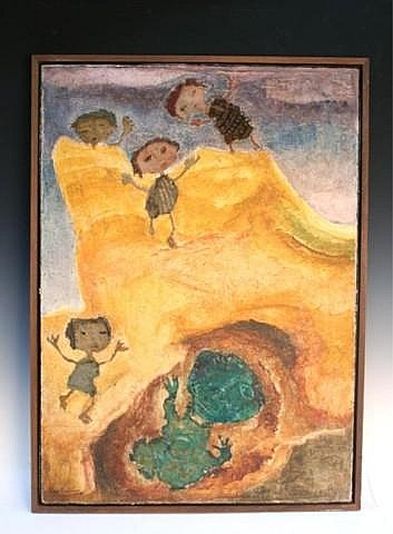 Modernist Painting by Liber Fridman Argentina
