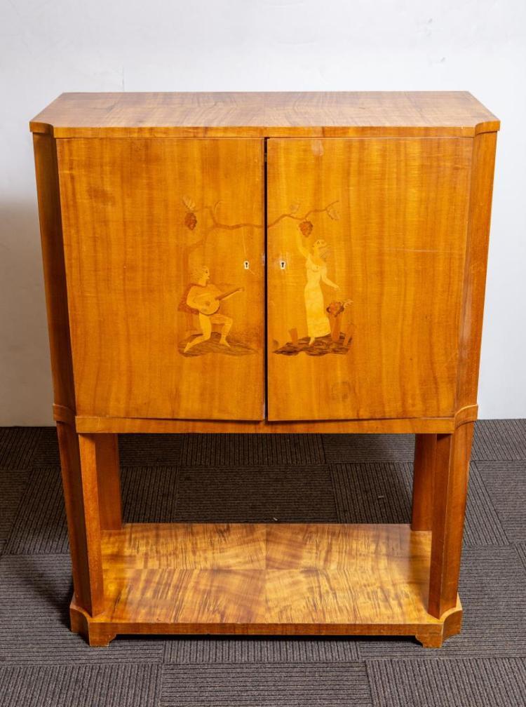 continental art deco bar vintage. Black Bedroom Furniture Sets. Home Design Ideas