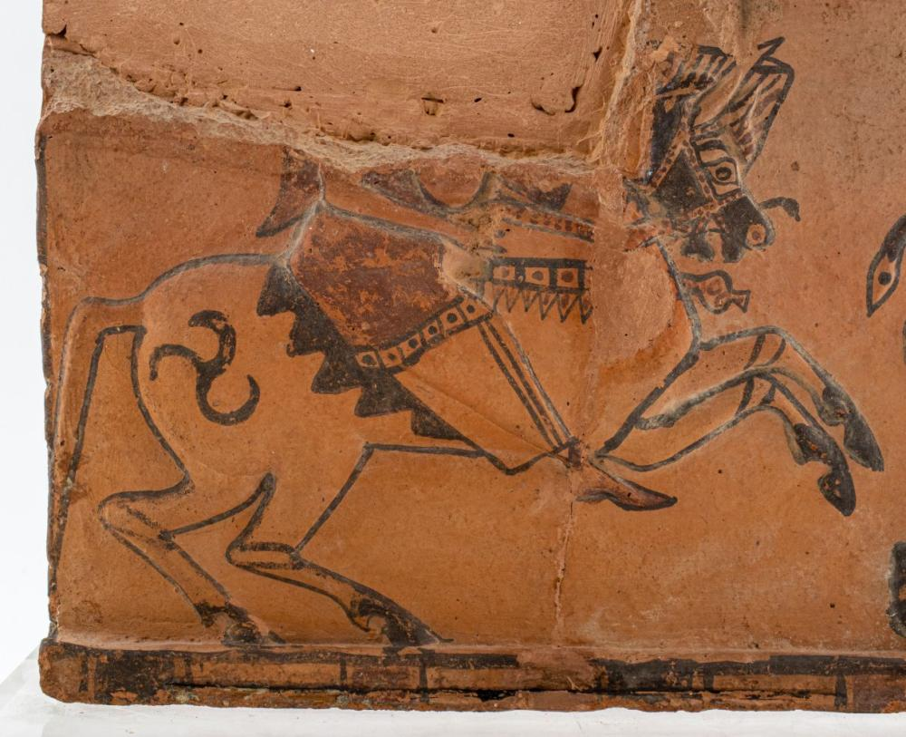 Ancient Greek Fragmented Terracotta Relief