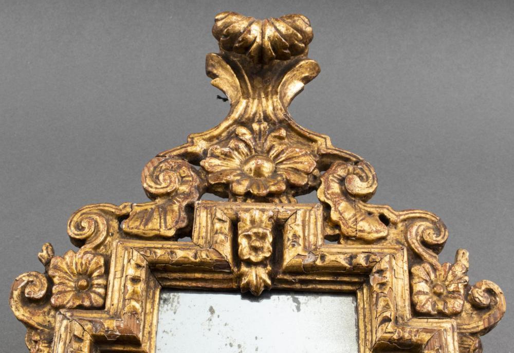 Italian Florentine Giltwood Mirror
