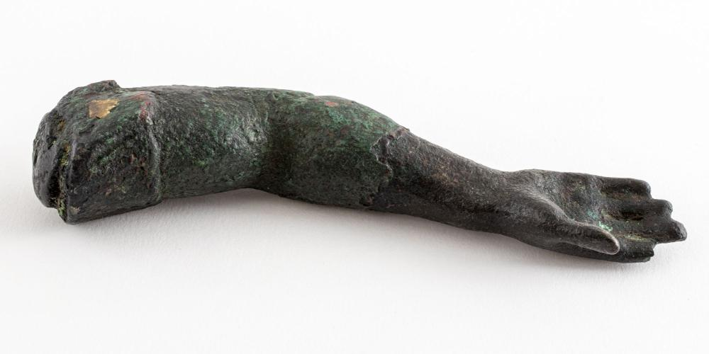 Ancient Roman Bronze Arm Fragment