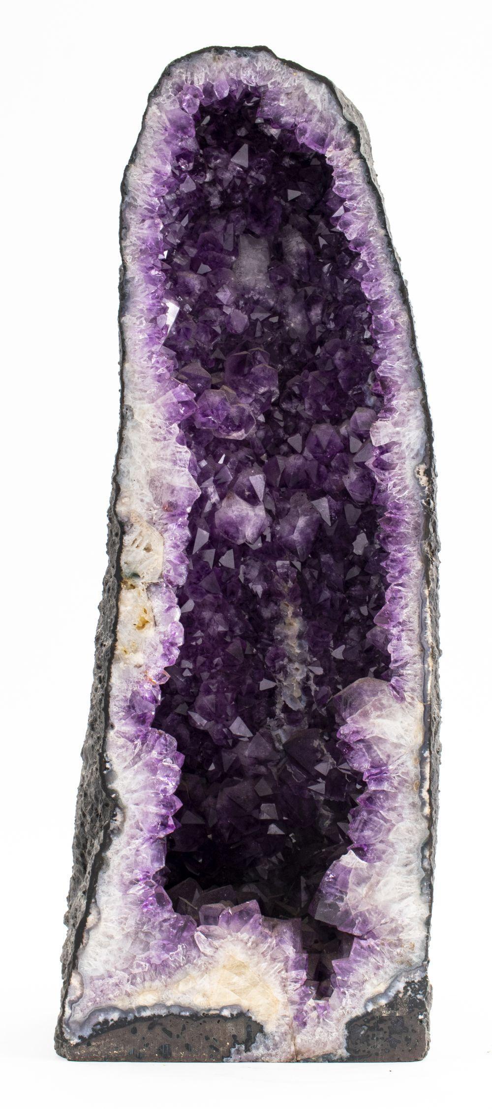 Large Amethyst Geode Boulder Specimen
