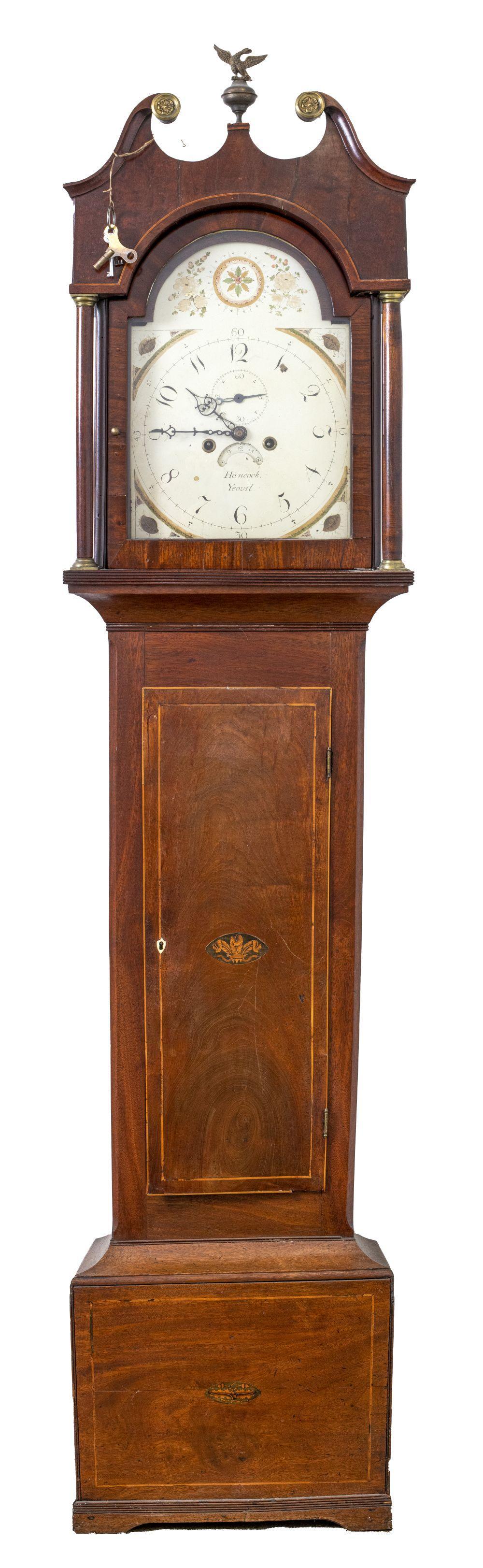Hancock of Yeovil Georgian Longcase Clock