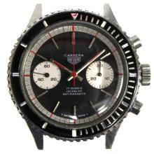 Vintage Heuer Carrera Diver's Chronograph Watch