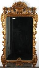 Continental Neoclassical-Style Gilt Mirror