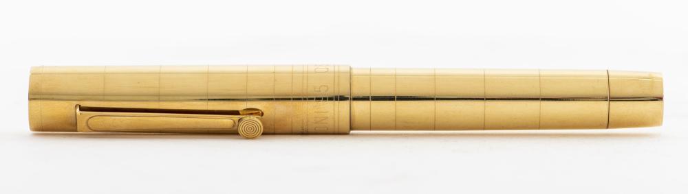 Omas 'Marconi' Radio Centennial 18K Gold Pen