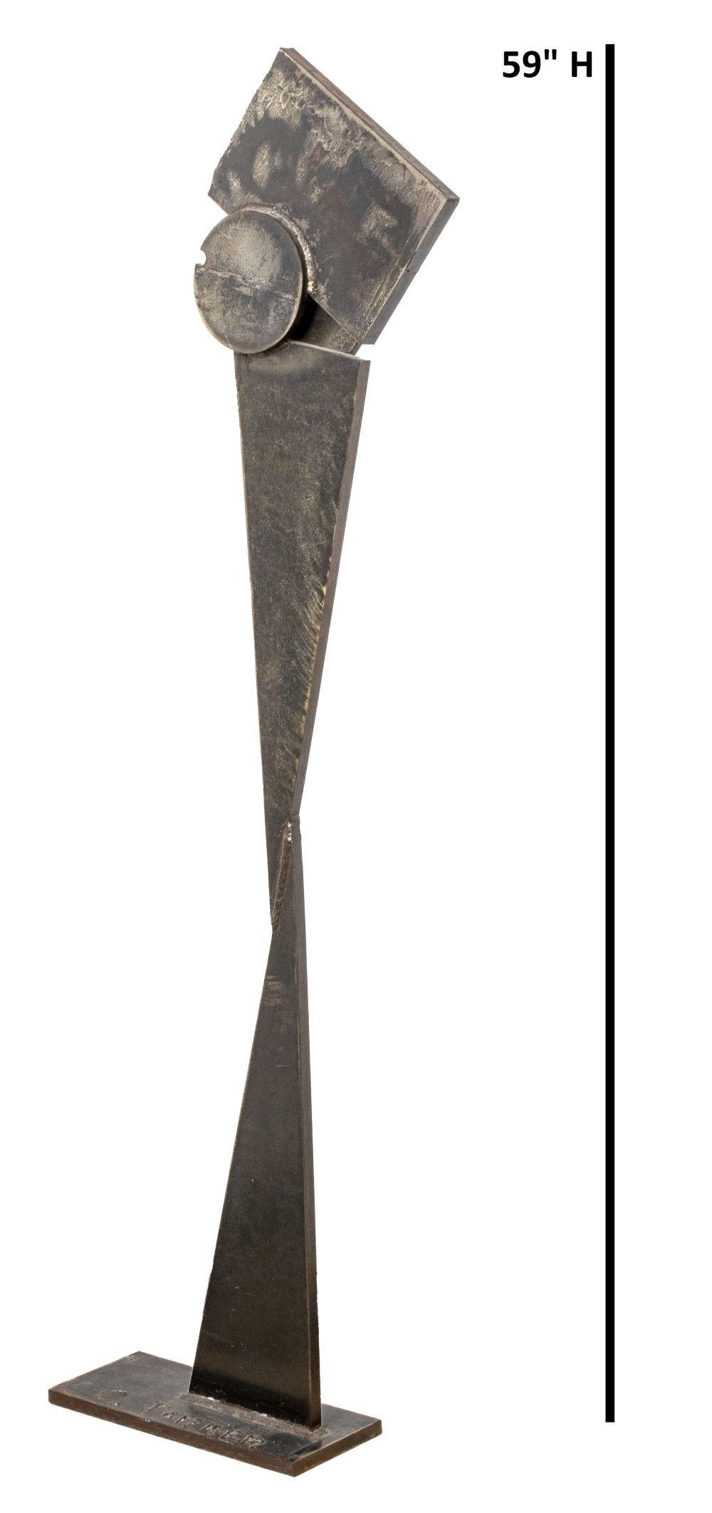 Torner Signed Monumental Iron Brutalist Sculpture