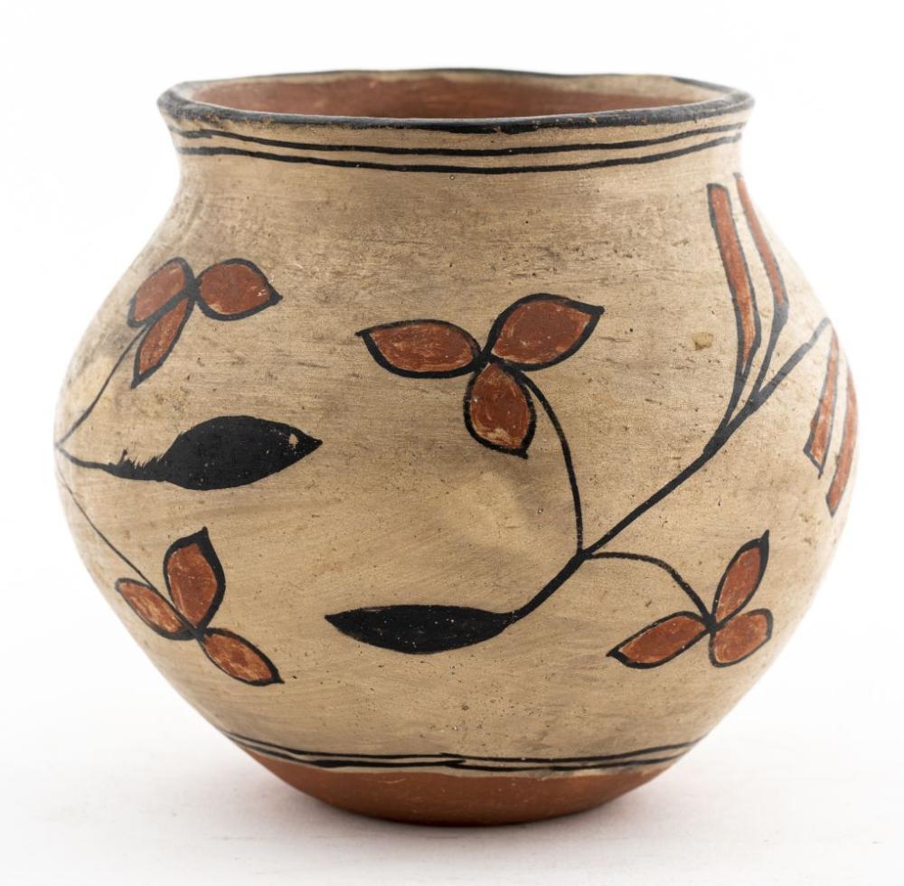 Acoma Pueblo Pottery Vessel