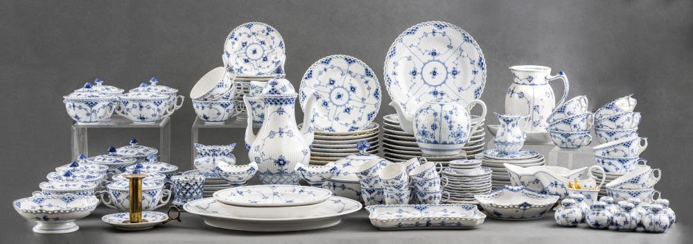 Royal Copenhagen Assorted Porcelain Service, 145