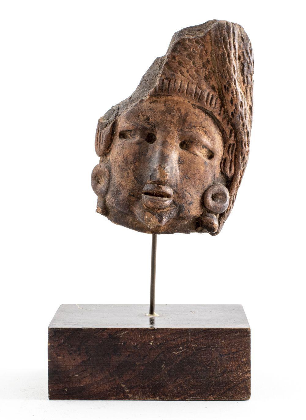 Vera Cruz Pottery Head