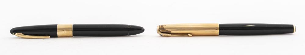 Sheaffer 14K Gold & Parker Gold-Filled Pens, 2