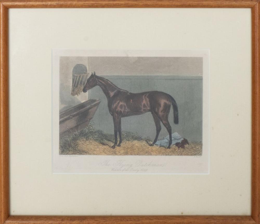 "Edward Hacker, ""The Flying Dutchman,"" Engraving"
