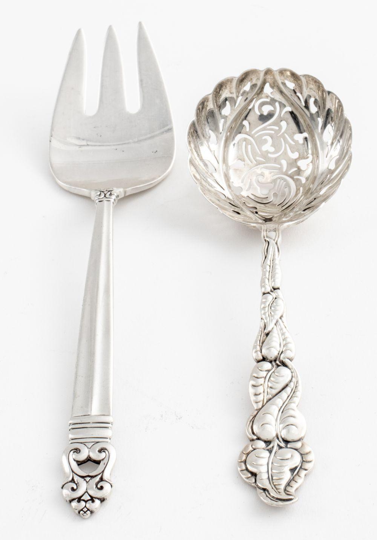 Tiffany & Royal Danish Sterling Serving Flatware