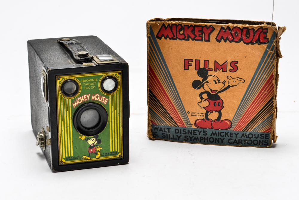 Sold Price Mickey Mouse Kodak Brownie Camera Film Reel Invalid Date Edt
