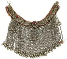 North African Tribal Chain Mail Choker Necklace