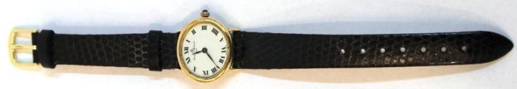 Baume & Mercier 18K Gold Vintage Swiss Watch