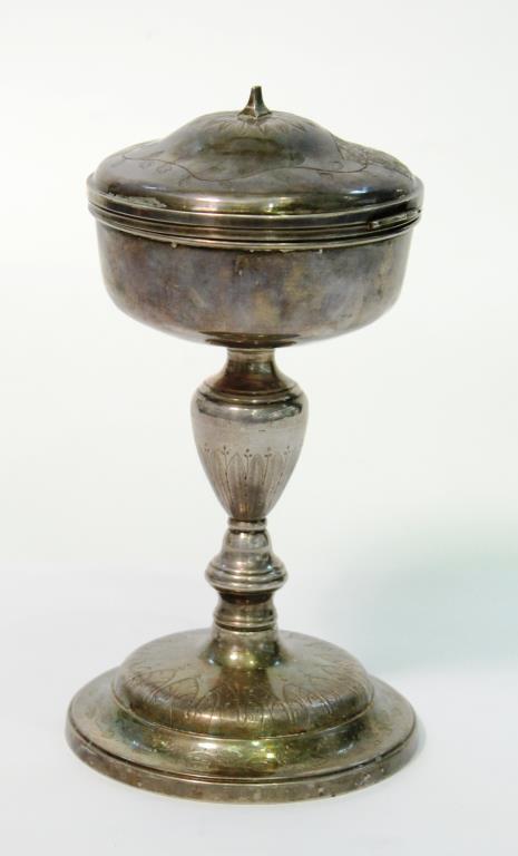 French Empire Silver, Vermeil, & Plate Ciborium