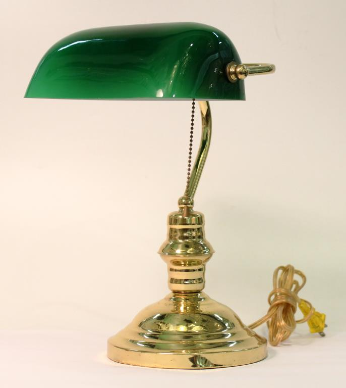 Contemporary Banker's Desk Lamp
