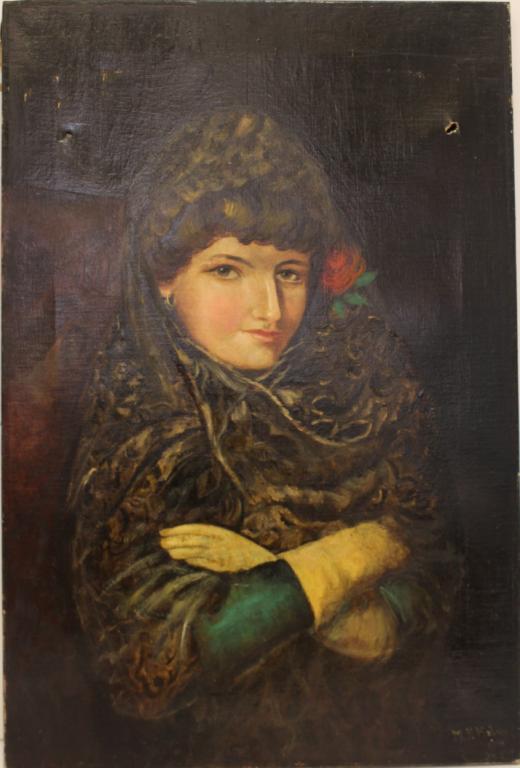 M.F. Mahoney (20th Century) - Oil