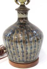 Small Glazed Ceramic Table Lamp