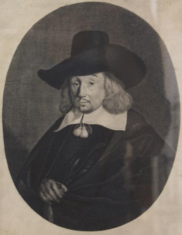 Hendrick Bary (Netherlands, 1640-1707)- Engraving