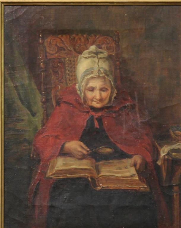 Unsigned Antique Oil Painting