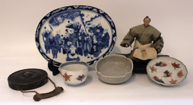 Small Group of Asian Items