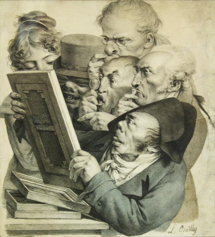 Louis Léopold Boilly (French, 1761-1845)-Mezzotint