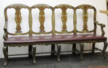 Country French 4-Seat Bench