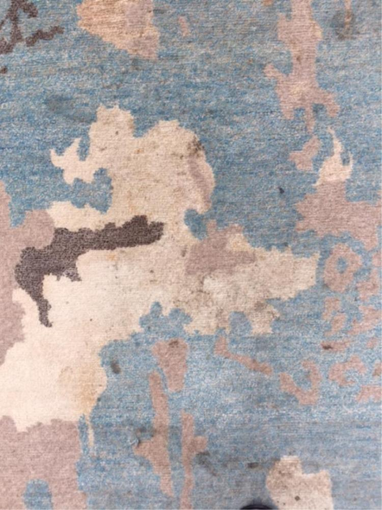 Contemporary Camouflage Carpet 10 X 143