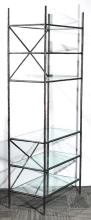 Wrought Iron Etagere, after Diego Giacometti