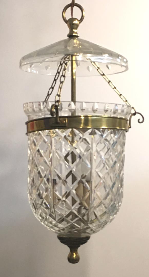 Waterford Crystal Hanging Lamp
