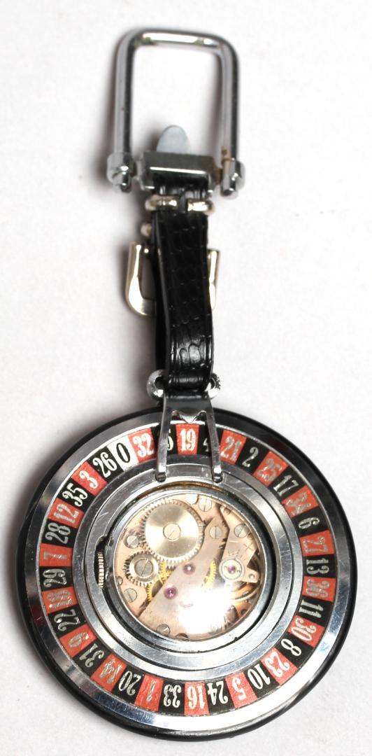 vintage novelty quot wheel quot pocket