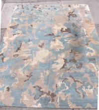 Contemporary Camouflage Carpet- 10' X 14'3