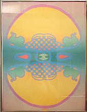 Peter Max (NY/Germany, b. 1937)- Lithograph