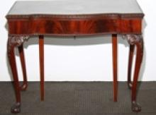Chippendale-Style Mahogany Dining Table