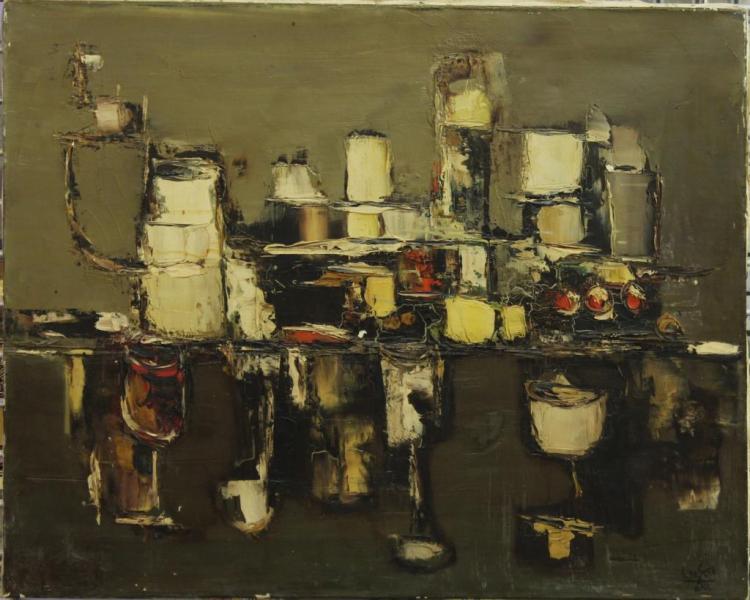 Eduardo de Soto (Spanish, b. 1917) - Oil on Canvas