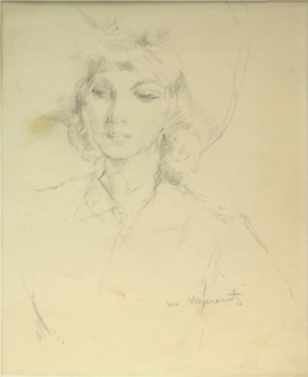 William Meyerowitz (American, 1887-1981)- Drawing