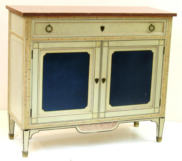 Louis XVI-Style Faux Bois Sideboard