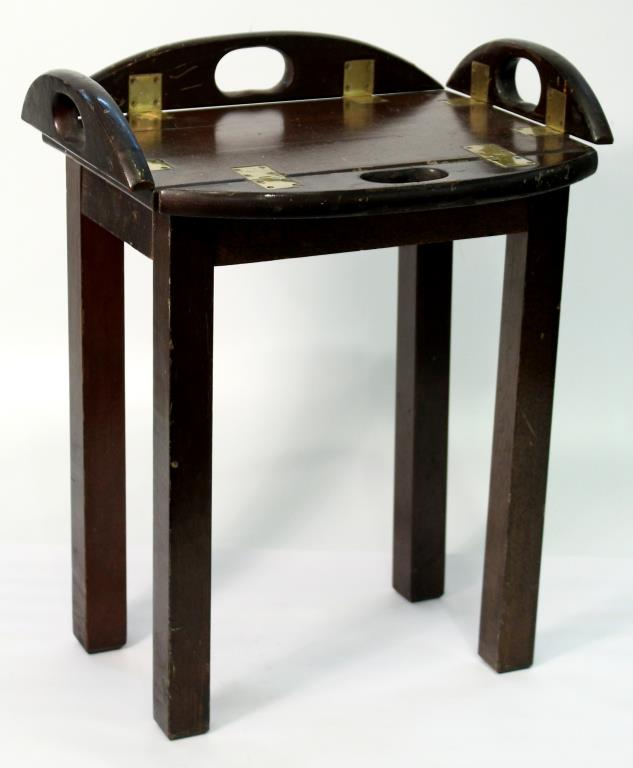 Diminutive Regency-Style Butler's Tray Table