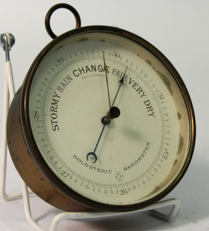 Antique NPHB Holosteric Barometer, France