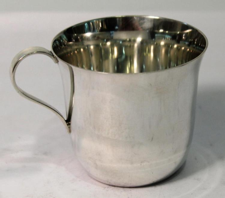 Tiffany & Co. Sterling Baby Cup
