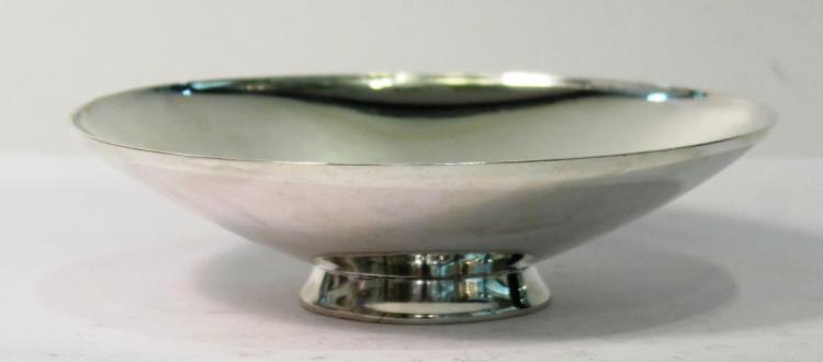 Tiffany & Co. Sterling Modernist Bowl